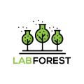實驗室的森林Logo