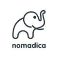 Nomadica Elephant  logo