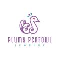 Plumy Peafowl  logo