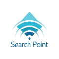 搜索點Logo