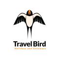 旅行的鳥Logo