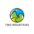 Two Mountains  logo