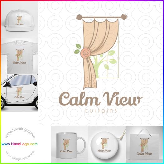 窗簾logo - ID:44310