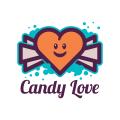 愛的糖果Logo