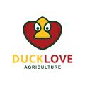 Duck Love  logo