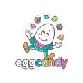 雞蛋糖果Logo