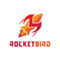 Rocket Bird  logo