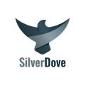 銀的鴿子Logo