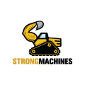 Strong Machines  logo