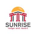 日出旅館和度假村Logo