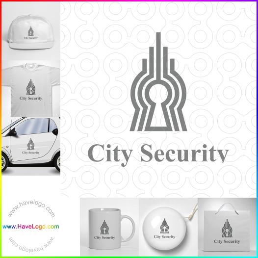 city security  logo - ID:65483