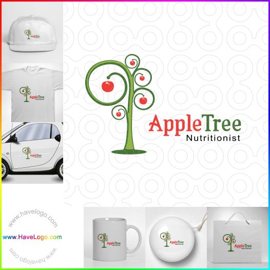 蘋果logo設計 - ID:17459