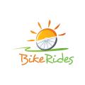騎自行車logo
