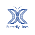 Butterfly Lines  logo