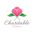 Charitable Flowers  logo