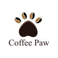 咖啡的爪子Logo