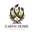 地球家Logo