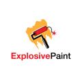 Explosive Paint  logo