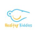 健康的孩子Logo