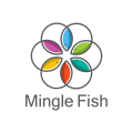 Mingle Fish  logo