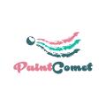 油漆的彗星Logo