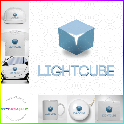 藍色logo設計 - ID:52779