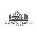 舒適的家庭Logo
