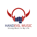 Handevil Music  logo