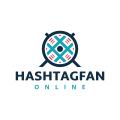 Hashtag Fan  logo
