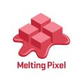Melting Pixel  logo