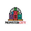 怪物的城市Logo