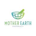 地球母親的醫藥Logo
