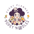 歐式麵條Logo