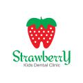 Strawberry Dental  logo
