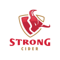 Strong Cider  logo