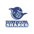 Volleyball Sharks  logo