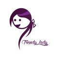 女孩Logo