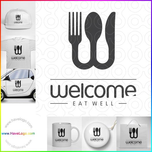 晚餐logo - ID:55520