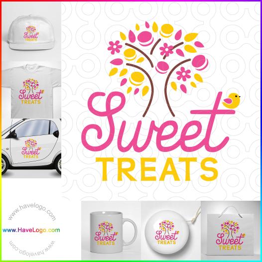 甜的食物logo設計 - ID:35289