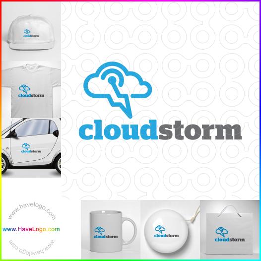 雲計算logo設計 - ID:17482