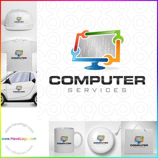 信息技術logo - ID:58854