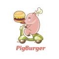 豬漢堡Logo
