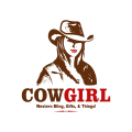 Cow Girl  logo