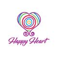 快樂的心Logo