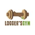 記錄器的健身房Logo