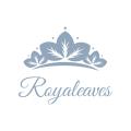 Royal Leaves  logo
