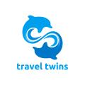 旅行的雙胞胎Logo