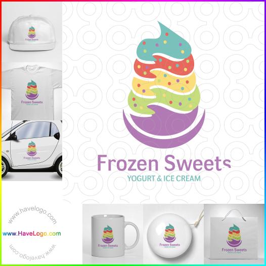 酸奶店logo設計 - ID:35293