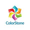 彩色的石頭Logo