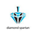 Diamond spartan  logo